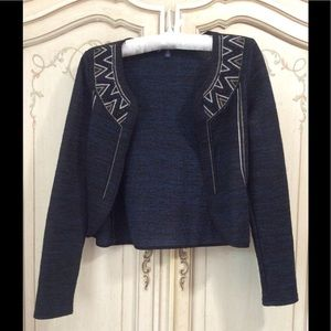 American Eagle embroidered chevron chain jacket